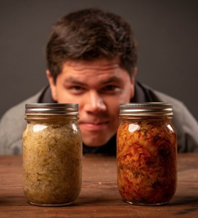 Good gut health includes the right amount of probiotics. Pickling food helps preserve the life of the food through the process of anaerobic fermentation